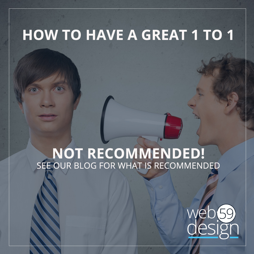 What makes a great 1 to 1 networking meeting