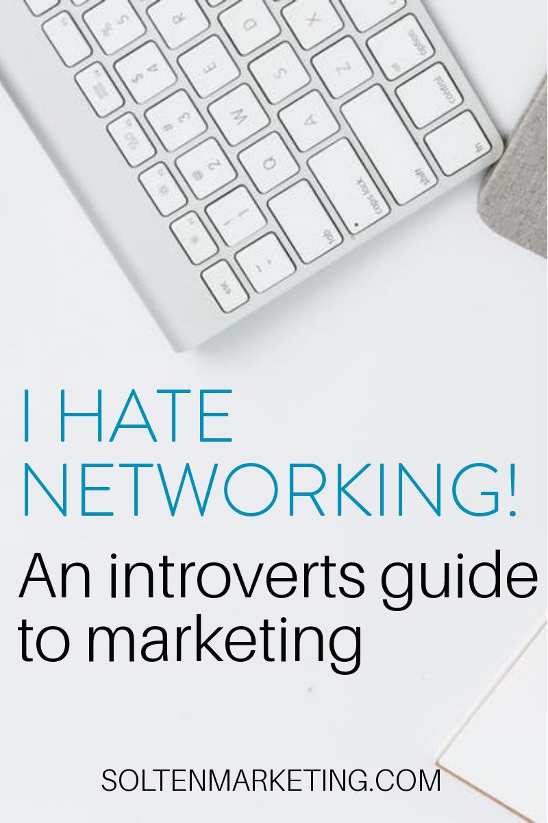 An introvert's guide to networking & marketing